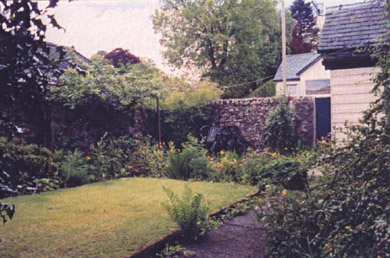 Garden of our self catering cottage
